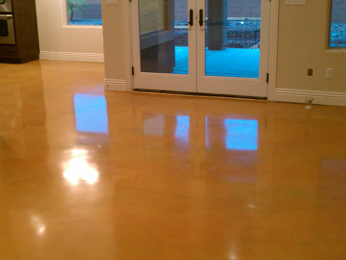Residential Concrete Floor Polishing Stuart, FL